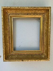 19 century style hand made giltwood and gesso frame