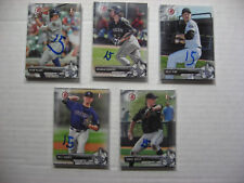 2017 BOWMAN DRAFT lot 15 WILL GADDIS Colorado Rockies FURMAN U 3rd Round pick