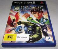 Ben 10 Ultimate Alien Cosmic Destruction PS2 PAL *Complete*