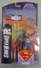 Dc Super Hero Supergirl Select Sculpt Action Figure + Diorama Sealed Mib Mattel