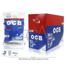 1 SCATOLA Da 34PZ Filtri OCB Slim 6mm x120 + Cartone OCB blu OMAGGIO- OFFERTA