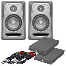 PAIR KRK Rokit RP5 G3 Platinum Active Powered Studio DJ Monitors + Pads & Cables