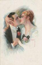 Antike Künstlerkarte Jahr 1916 verschickt in Rodaun bei Wien wertvolle Frankatur
