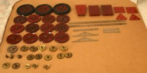 Large Quantity 1920s MECCANO Parts!  All MFEA!
