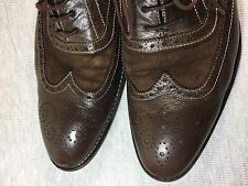 Paul Smith Brown Leather WingTip Size 8