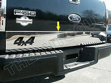 2004 2005 2006 2007 2008 FORD F150 STAINLESS TAILGATE TRIM WITH 4X4 CUTOUT