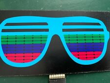 GLASSES EQ  ,  ,SOUND ACTIVATED FLASHING PANEL   3