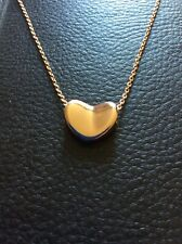 ROSE GOLD HEART NECKLACE PENDANT PREMIUM QUALITY