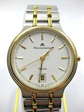 Maurice Lacroix Stahl Gold 69486 Box Papiere Uhr Quartz Datum Herrenuhr