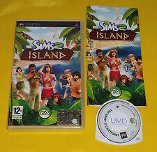 THE SIMS 2 ISLAND- Sony PSP - Versione Italiana 1ª Edizione ○○ COMPLETO - AP