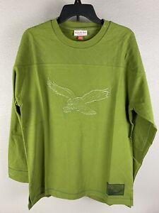 Mitchell & Ness Mens Philadelphia Eagles Sweatshirt Size Large