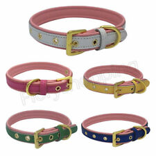 PU Dogs Medium Puppies Dog Small New Brand For Soft & Adult Padded Large Collar