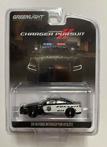 Greenlight 1:64 Dodge Charger Pursuit Law Enforcement Show car Demo Police
