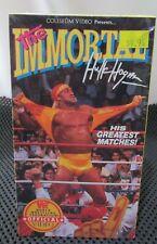 WWF The Immortal Hulk Hogan His Greatest Matches VHS Sealed NEW