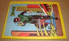 QUADERNO DC GREEN LANTERN A QUADRETTI CISA SU LICENZA DC COMICS 1979