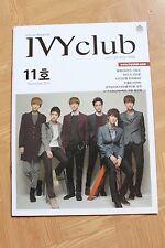 EXO EXO-K B1A4 IVY club official magazine vol 11 Novermber 2012 SUPER RARE!