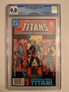 "Tales of the Teen Titans  #44 ""The Judas Contract""  CGC 9.0"