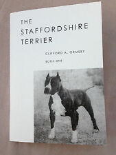 DOGS STAFFORDSHIRE TERRIERS ORMSBY AMERICAN PIT TERRIER PEDIGREES RARE DOG