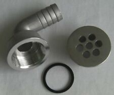 BOAT DRAIN FOR SHOWER DRAIN OR DECK DRAIN IN 316 STAINLESS STEEL