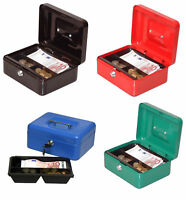 Geldkassette Wertkassette Münz Spardose Dokumenten kassette box 20x16x9cm, 90020