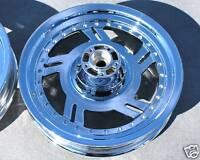 Harley Softail Fatboy Custom Cut Twister 2000-2006 Chrome Wheels Rims Outright
