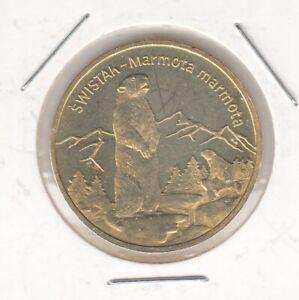Polen  2 Zloty  2006  Murmeltier  -  Swistak