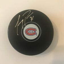 Carey Price autographed Montreal Canadiens Official Game Puck with COA (#71)