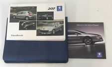 PEUGEOT 207 OWNERS PACK / HANDBOOK COMPLETE WITH WALLET 2005-2009 (2006)