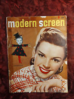 Rare MODERN SCREEN magazine October 1948 JUDY GARLAND