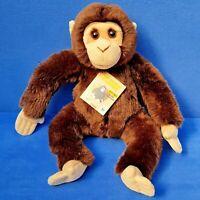 WWF AFFE SCHIMPANSE STOFFTIER 28 CM WORLD WILDLIFE FUND KUSCHELTIER MONKEY