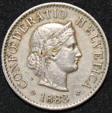 1883 B | Switzerland 5 Rappen | Cupro-Nickel | Coins | KM Coins