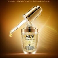 24K Gold Collagen Gesichts Serum Feuchtigkeitscreme Hyaluronic Essence Cream Hot