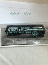 Scotty Cameron Black, Tiffany Wording Putting Path