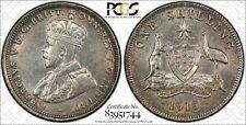Australia 1 Shilling 1915 (L) AU55 PCGS silver KM#26 George V