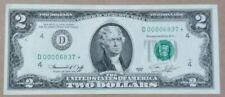 1976 $2.00 Cleveland STAR Lower # D00006837* - Ch. CU