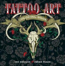 Serene Coloring: Tattoo Art Coloring Book : Ink Designs for Inner Peace by Lark…