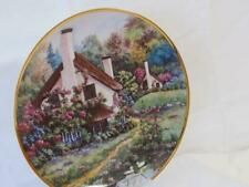 A Cozy Glen Franklin Mint Porcelain Plate #C5082 by Violet L Schwenig