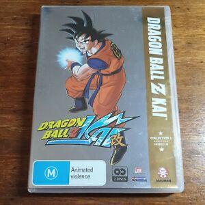 Dragon Ball Z Kai Collection 1 DVD R4 LIKE NEW FREE POST