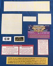 NEW HOLDEN ENGINE BAY RESTORATION DECAL KIT SUITS LC GTR 2600 Ci