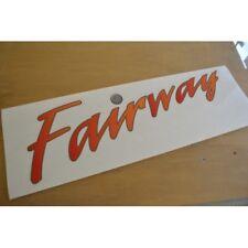 SWIFT Fairway Caravan Side Name Sticker Decal Graphic (STYLE 2) - SINGLE