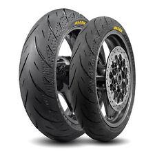 Maxxis Supermaxx Diamante Touring Motocicleta-Par De Neumáticos 120/70/17 & 180/55/17