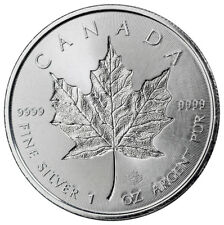 2018 Canada 1 oz Silver Maple Leaf - Incuse $5 Coin GEM BU PRESALE SKU52127