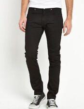 Lee Luke Slim Tapered Clean Black Denim Jeans 31 34 W31 L34
