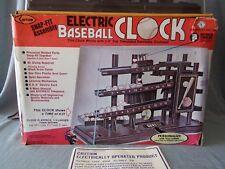 Electric Baseball Clock Deluxe ARROW 1980 80's rétro VERY RARE USA