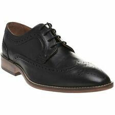 SOLE Mens Tonsley Brogue Shoes Black