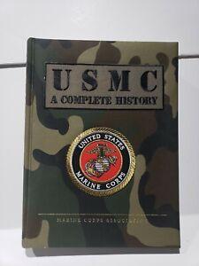 USMC A Complete History Camo & Patch Hardback Book Hoffman Crumley