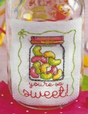 Jelly Beans Sweets Candy Birthday Valentines Card Cross Stitch Pattern (v2b2c57)