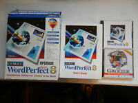COMPLETE COREL WORDPERFECT SUITE 8 CD + BOOK + BOX - WP Quattro Presentations