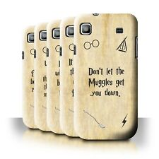 Back Case/Cover/Skin for Samsung Galaxy S/I9000/School Of Magic Film Quotes