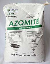 44lb Micronized AZOMITE - Organic Trace Mineral Powder -Certified Azomite Dealer